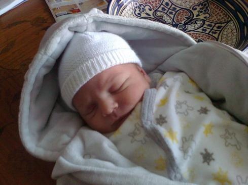 Petit bébé de cinq jours !